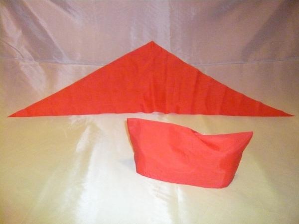 Оригами пионерская пилотка
